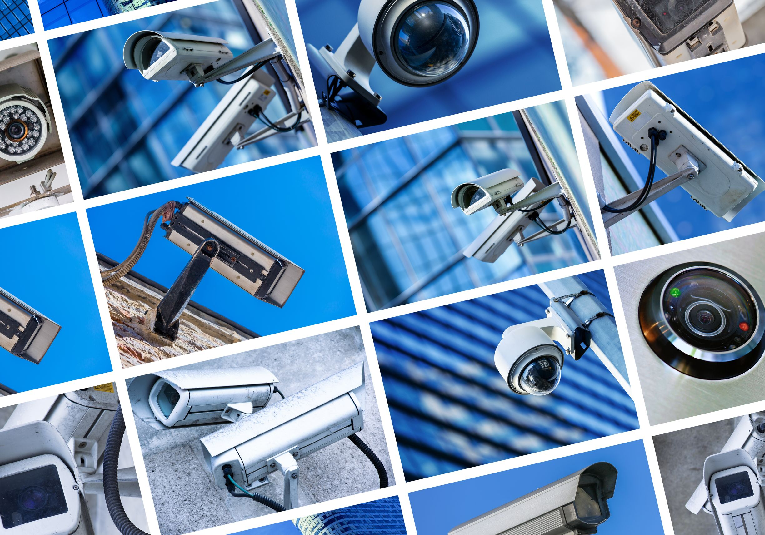 Security Cameras Assist Telcom Networks